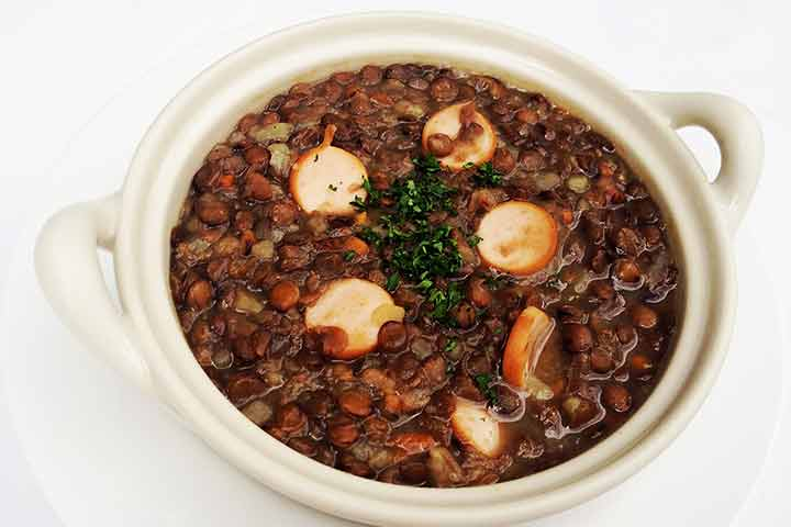 Lentil-soup-with-sausage