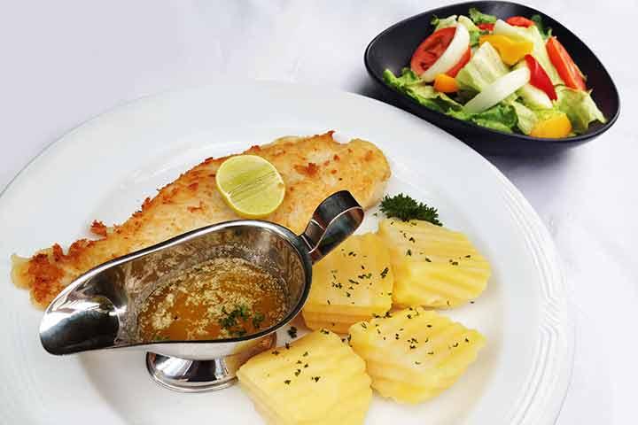 Pangasius-filet-and-lemon-butter