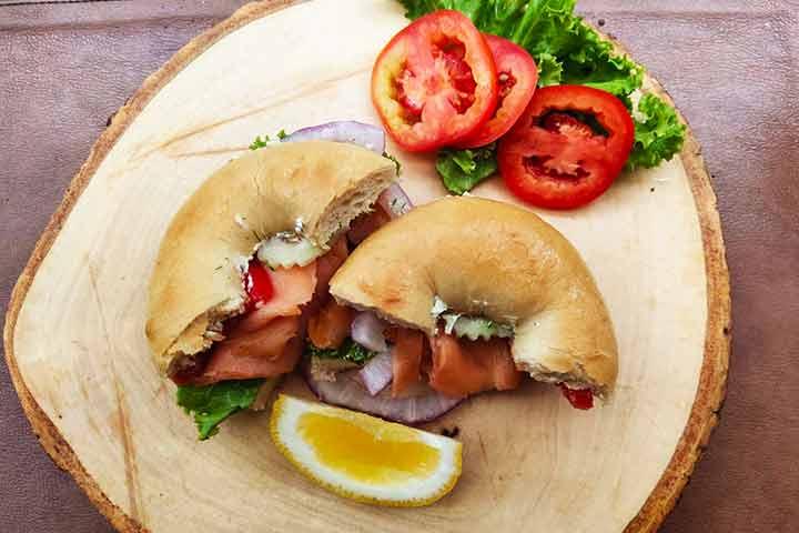 Salmon-wasabi-bagel