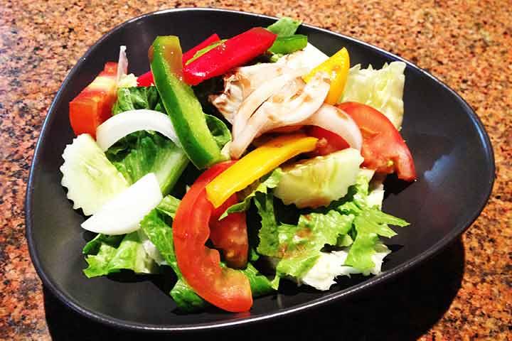Small-mixed-salad